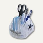 M&M Stifteköcher Solido Komfort, diverse Utensilienfächer, glasklar, 62820440
