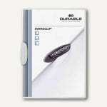 Durable Klemm-Mappe Swingclip DIN A4, bis 30 Blatt, weiß, 25 Stück, 2260-02