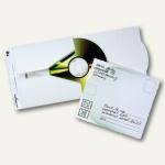 Durable CD-Versandtasche MAIL, 176 x 143 mm, weiß, 25 Stück, 5211-02
