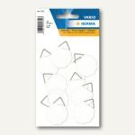 Herma Bildaufhänger wasserlöslich gummiert, 30 mm, 10 x 10 St., 5752