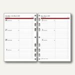 rido-idé Dohse ide Timing 1 Kalendarium 1 Woche/2 Seiten, DIN A5, 706591017