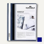 Durable Duraplus Angebotshefter DIN A4, dunkelblau, 25 Stück, 2579-07