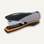 Rexel Heftgerät Optima 40, 40 Blatt, Metall, schwarz/silber/orange, 2102357