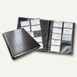 Durable Visitenkarten-Ringbuch VISIFIX centium A4, schwarz, 2409-01