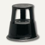 officio Rollhocker, Metall, Höhe 43 cm, Tragkraft 150 kg, schwarz