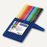 Staedtler Farbstifte ergo soft 157, 12 Stifte, farbig sortiert, 157 SB12