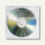 Veloflex CD-Hüllen für 1 CD, PP, selbstklebend, 100 Stück, 2259100