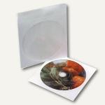 CD Papiertasche mit Sichtfenster, 125x125mm, 100 Stück, 99021-1
