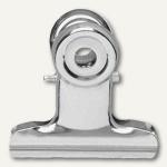 MAUL Brief-Klemmer, Breite 30 mm, Klemmweite 10mm, nickel, 100 Stück, 2173096