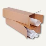 smartboxpro Versandhülse, 870 x 105 x 105 mm, Karton, braun, 10 Stück, 222115310