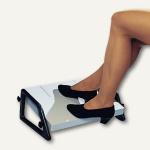 Wedo Fußstütze Relax, 450 x 350 x 40 mm, höhenverstellbar, lichtgrau, 2751