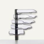 Novus CopySwinger V, 5er-Set mit Ablageschalen B4, anthrazit, 720+5005+000