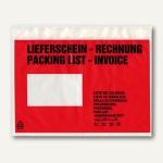 Lieferscheintaschen, DIN C5, 240 x 165 mm, Lieferschein/Rechnung, 250 St.