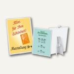 Veloflex Plakatständer, DIN A3, PP, Ständer und Haken, 10 Stück, 3403000