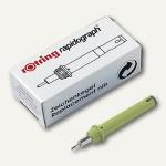 Rotring Ersatzkegel Rapidograph 0.35 mm, gelb, R755035