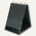 Veloflex Tisch-Flip-Chart, DIN A3 hoch, PVC, 4-Rund-Ringe, schwarz, 4133280