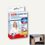 Tesa Feinstaubfilter Clean Air, weiß, Größe S, 100 x 80 mm, 50378-00000-00