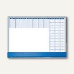 Schreibunterlage m. Schutzklappe, 59.5 x 41 cm, 80 g/qm, blau, 50 Blatt, 82555
