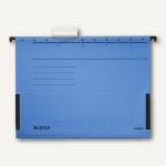 LEITZ ALPHA Hängetaschen A4, mit Fröschen, 225g/m², blau, 5 Stück, 19863035
