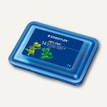 Staedtler Plastilin-Knete, 14 Stangen in der Plastikbox, farbig sortiert, 8420 SB