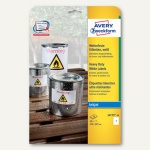 Zweckform Folien-Etiketten, wetterfest, 210 x 297 mm, weiß, 10 Stück, J4775-10