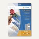Herma Postkartenhüllen, PP transparent, 4 Taschen für 10 x 15 cm, 40 St., 7695