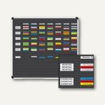 Ultradex Planrecord Stecktafel, 61 Steckbahnen, 125 x 77 cm, 1033