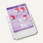 officio Faltentaschen DIN A4, 190my, mit Öffnung oben, geprägt, 10 Stück