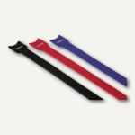 Hama Klettbinder-Streifen, 145 mm lang, ø 35 mm, farbig, 12 Streifen, 20536