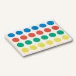 Klebepunkte - Ø 15 mm, permanent klebend, 4 Farben sortiert, 2.880 Stück