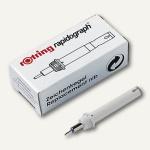 Rotring Ersatzkegel Rapidograph 0.25 mm, weiß, S0219270
