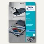 Avery Zweckform OHP InkJet Folie DIN A4, 0.11 mm, transparent, 10 Stück, 2503