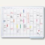 Franken Jahresplaner, 120 x 90 cm, magnetisch, Monate+Tage, 12 Monate, JK1203