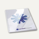 GBC Einbanddeckel HiClear, DIN A4, PVC, 200 mic., super klar, 100 St., CE012080E