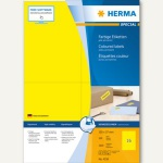 "Herma Etiketten "" SPECIAL"" - 105 x 37 mm, gelb/matt, 1.600 Stück, 4256"