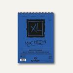 Canson Zeichenblock XL Mix Media Gouache, A3, 300 g/m², 30 Blatt, 807216
