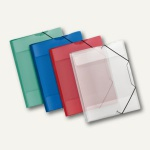 Veloflex Sammelmappe Crystal, DIN A4, PP-Folie, transp. sortiert, 24 St., 4442200