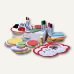 Franken Moderationsset, über 1.500 Teile, weißer Karton mit Tragegriff, UMMS B