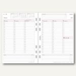 Chronoplan Zeitplaner Wochenplan, DIN A5, 1 Woche/2 Seiten, Spalten, 50239
