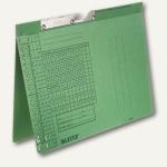 LEITZ Pendelhefter, DIN A4, 250 g/qm, Amtsheftung, grün, 50 Stück, 2094-00-55