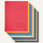 LEITZ Spiralhefter, A4, Colorspankarton, farbig sortiert, 50 Stück, 3040-02-99