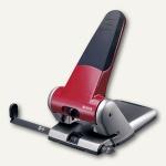 LEITZ Registraturlocher 5180 extrastark, bis 65 Blatt, rot, 5180-00-25