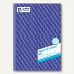 Kassenabrechnung A4, MwSt.-Spalte für Einnahmen + Ausgaben, BP, 2x 50 Blatt, 427