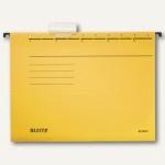 LEITZ Alpha Hängemappe für DIN A4, gelb, 25er Pack, 19850015