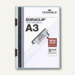 Durable Klemmhefter DURACLIP, DIN A3, bis 60 Blatt, hellblau, 10 Stück, 2218-06