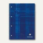 Collegeblock DIN A4+, kariert, 90 g/m², Ringbuchlochung, 80 Blatt, 5 Stück