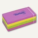 Tartan Haftnotizen neon, 38 x 51 mm, 12 Blocks á 100 Blatt, 5138N