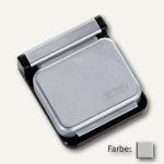 MAUL Magnetclip S, 3, 6 x 4 cm, selbstklebend, grau, 10 Stück, 6240084