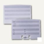 Durable Ersatzkarten für Adresskarteien TELINDEX, 100er Pack, 2419-02