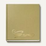 """Veloflex Gästebuch """" Classic"""", 205 x 240 mm, 144 Seiten, gold, 5420011"""